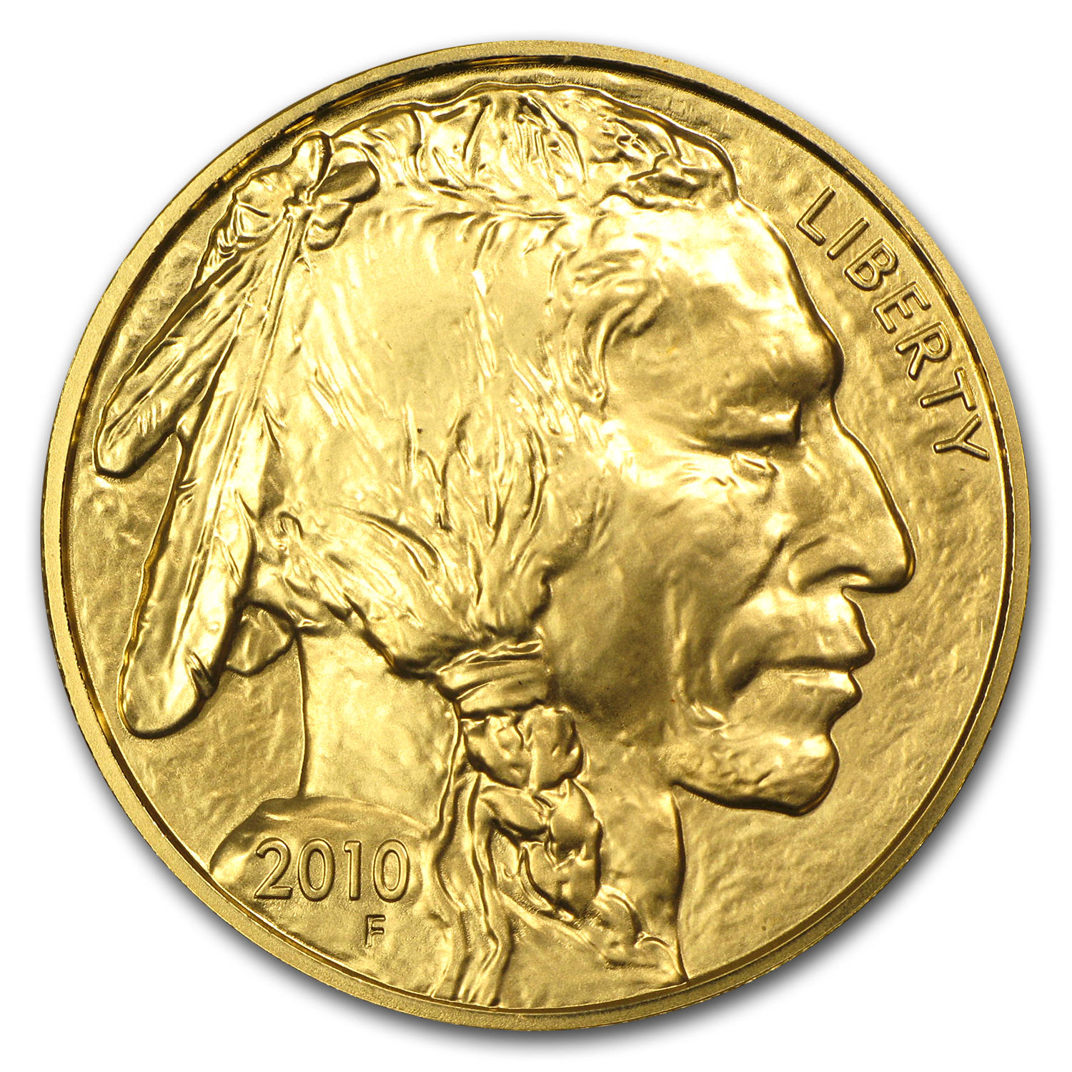 2010 1 oz Gold Buffalo BU